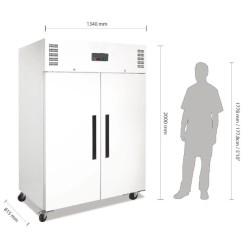 Armoire réfrigérée positive - GN 2/1 - Paiement 4X - 1200 L. - Garantie 2 ans - Classe N