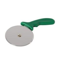 Roulette à pizza professionnelle - Vert