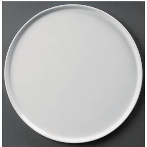 Assiette Whiteware - Pizzas - Lot de 4 - Ø 330 mm