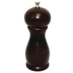 Moulin sel / poivre - Bois foncé - 150 mm