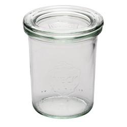 Verrine - 160ml - Lot de 12 - Couvercle en verre