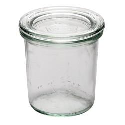 Verrine - 140ml - Lot de 12 - Couvercle en verre