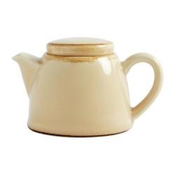 Théière - 510 ml - Couleur sable / beige - Olympia Kiln - Lot de 4