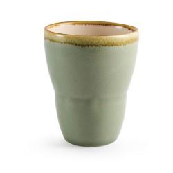 Gobelets - 440 ml - Couleur mousse / vert clair - Kiln Olympia - Lot de 6