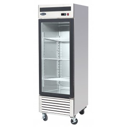 PREMIUM - Armoire réfrigérée vitrée positive - 610 L. - Paiement 4X - Inox - Classe T