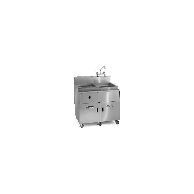 cuiseur p tes professionnel en acier inoxydable gaz. Black Bedroom Furniture Sets. Home Design Ideas