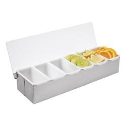 Boîte à compartiments - 6 x 475 ml - Préparation boissons - Bar