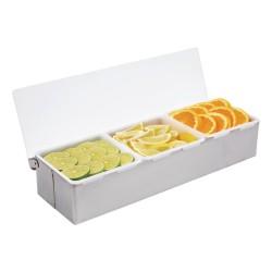 Boîte à compartiments - 3 x 950 ml - Préparation boissons - Bar