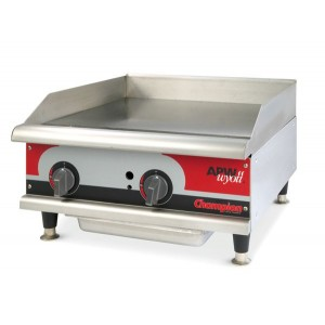 Grill charcoal gaz aux pierres de lave - largeur 1220mm