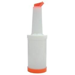 Bouteille verseuse - Orange -  1 L.
