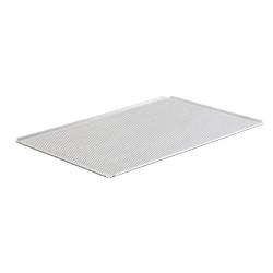 Plaque pâtissière perforée - 600 x 400 - Aluminium - Schneider