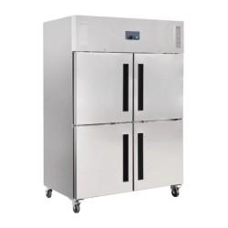 Armoire réfrigérée négative - 1200 L. - 2 portes - 4 portillons GN 2/1 - Garantie 2 ans - Classe N