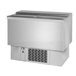 Refroidisseur à bouteilles - Paiement 4X - 200 L. - Inox - Classe N