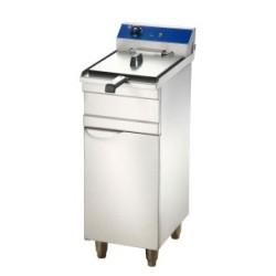 Friteuse électrique professionnel sur coffre  9 Litres- Friteuse 380 volts- 6kw