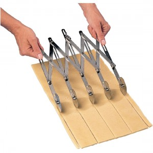 Rouleau multicoupe extensible - 5 roulettes - Mafter