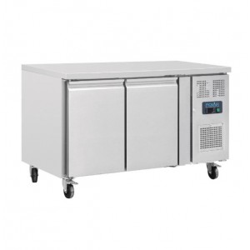 Table réfrigérée positive - Tropicalisée - GN 2/3 - Garantie 2 ans - 228 L. - 2 portes - 1360 (L) x 600 (P) mm - Classe T