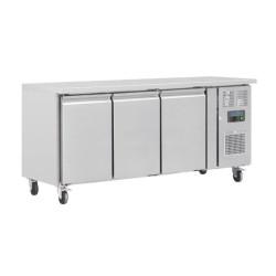 Table réfrigérée positive - Tropicalisée - GN 2/3 - Garantie 2 ans - 339 L. - 3 portes - 1795 (L) x 600 (P) mm - Classe T
