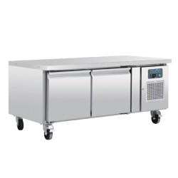 Soubassement réfrigéré - Tropicalisé - 2 portes - GN1/1 - 214 L. - 1360 (L) x 700 (P) mm - Classe T
