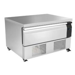 Soubassement réfrigéré négatif - 1 tiroirs - GN 2/1 - 76 L. - 900 (L) x 700 (P) mm - Classe N