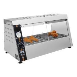 Vitrine chauffante chicken- poulet 810*670*510mm + contrôleur humidité