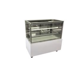 Vitrine réfrigérée positive - 480 L. - Paiement 4X - 1200 (L) x 725 (P) x 1200 (H) mm - Avec éclairage - Classe N