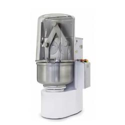 Pétrin 80L - Spirale - 2 vitesses - Cuve rotative - 2 bras prolongés - 380 V.