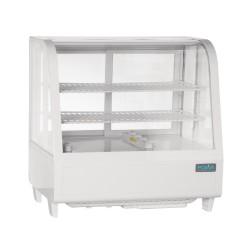 Vitrine réfrigérée à poser - Paiement 4X - Garantie 2 ans - 100 L. - 2 étagères - Avec éclairage - Classe N