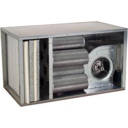 Caisson charbon actif 9 cylindres/  3000m³/h