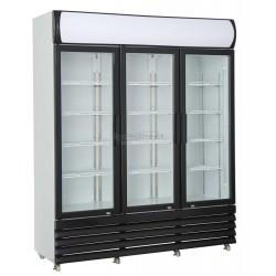 Armoire a boissons 2 portes vitrées capacité  2050 litres