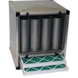 Caisson charbon actif  - 9 cylindres - Paiement 4X - 2500 m3