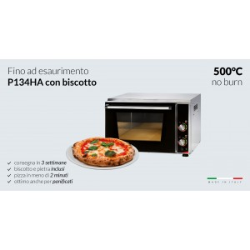 Four pizzas professionnel électrique - Thermostat 450 °C / 230 V. - Paiement 4X - 1 x 34 cm