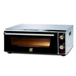 Four pizzas professionnel électrique - Thermostat 450 °C / 380 V. - 2 x 50 cm