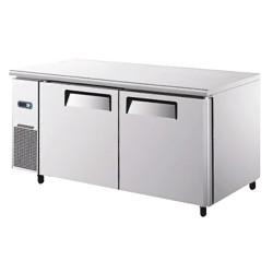 Table  réfrigérée  2 portes gamme 700 moteur gauche
