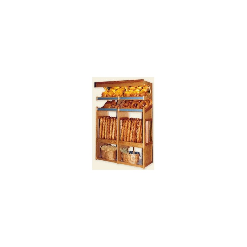 paneti re en bois 1 module boulangerie gastromastro group sas. Black Bedroom Furniture Sets. Home Design Ideas