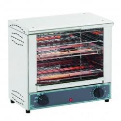 Toaster grill deux niveaux XL professionnel 230v
