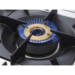 Fourneau 6 feux gaz sur four  GN2/1 GAMME 900