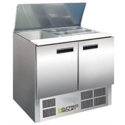 Saladette frigorifique 2 portes