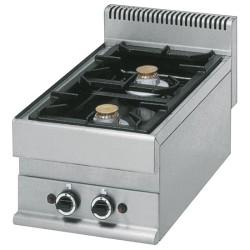 Cuisinière gaz 2 feux vifs -Top-