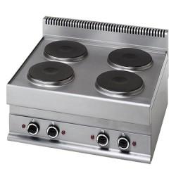 Cuisinière électrique 4 plaques -Top-
