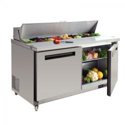 Saladette  refrigeree 2 portes GN 1/1, 405 litres
