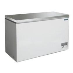 Congélateur coffre inox 390 L