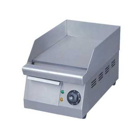 Plaque à snack éléctrique inox simple 400mm