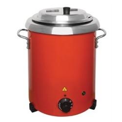 Soupière électrique professionnelle inox contenant 10 litres