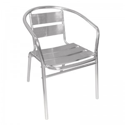 chaise de terrasse en aluminium chaises aluminium restaurant dag paris gastromastro group sas. Black Bedroom Furniture Sets. Home Design Ideas