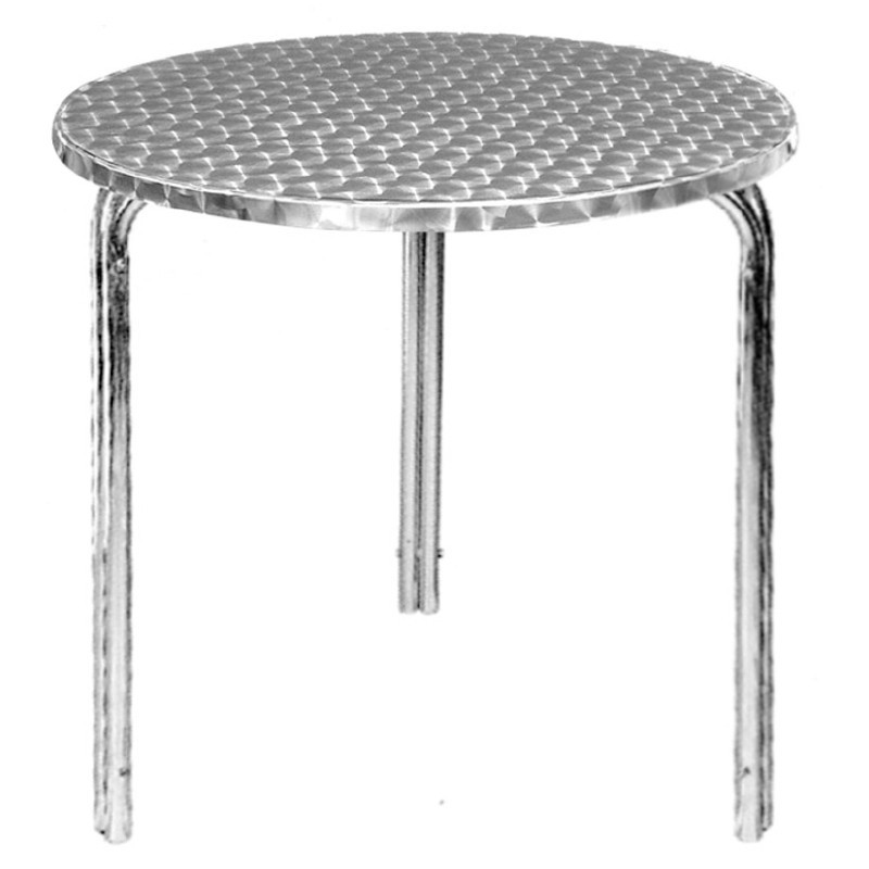 table ronde bistro empilable gastromastro group sas. Black Bedroom Furniture Sets. Home Design Ideas