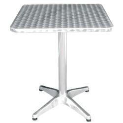 Table carré Bistro sur pied