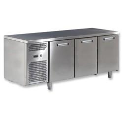 Table  réfrigérée  3 portes gamme 700 moteur gauche