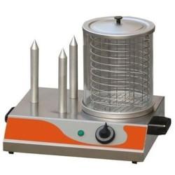 Machine à hot dog professionnel electrique 230v 4 plots