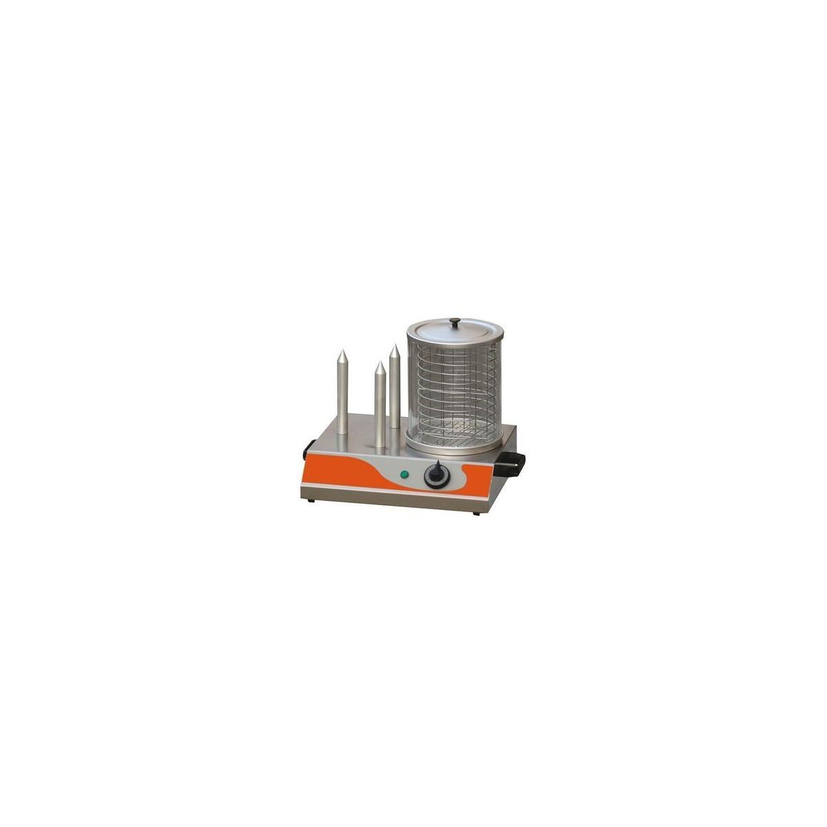 machine hot dog professionnel electrique 230v 3 plots gastromastro. Black Bedroom Furniture Sets. Home Design Ideas