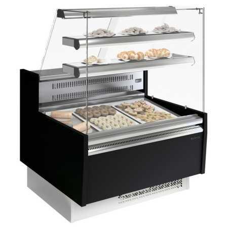 Vitrine réfrigérée à pâtisserie  infrico 1000x985x1345